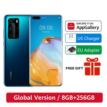 Load image into Gallery viewer, DHL Free Ship Global Version Huawei P40 Pro 5G 8GB 256GB Kirin 990 Smartphone 50MP Quad Cameras 6.58'' 90Hz  40W SuperCharge