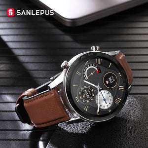 2020 SANLEPUS ECG Smart Watch Bluetooth Calls For Men IP68 Waterproof Smartwatch Blood Pressure Monitor For Android Apple Xiaomi