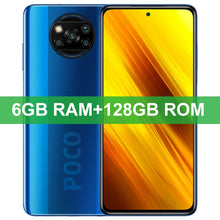 Load image into Gallery viewer, In Stock Global Version Xiaomi Poco X3 NFC Smartphone 64GB/128GB Snapdragon 732G Octa Core 64MP 5160mAh Battery 33W Fast Charge