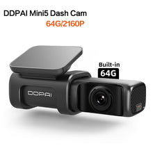 Load image into Gallery viewer, DDPAI Dash Cam Mini 5 UHD DVR Android Car Camera 4K Build-in Wifi GPS 24H Parking 2160P Auto Drive Vehicle Video Recroder Mini5