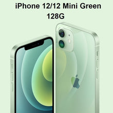"Load image into Gallery viewer, Authentic Original Brand New iPhone 12/12 Mini 5G 6.7/5.4"" XDR Display PD Charger as Gift A14 Bionic IOS 14 Smartphone Bluetooth"