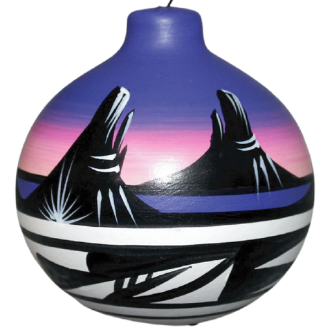 Desert Rainbow Ornament -(11151)