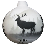 High Country Tracks Elk Ornament