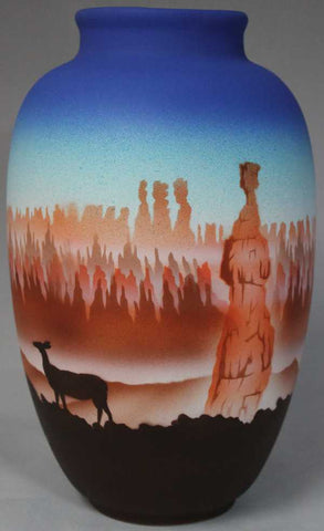 Bryce Canyon Ginger Jar