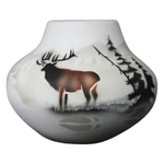 High Country Tracks Elk 7 1/2 x 6 Bowl -(63057)