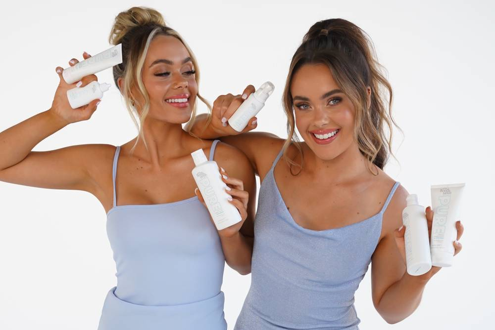 The Mescia Twins Pure Self Tanning Routine!