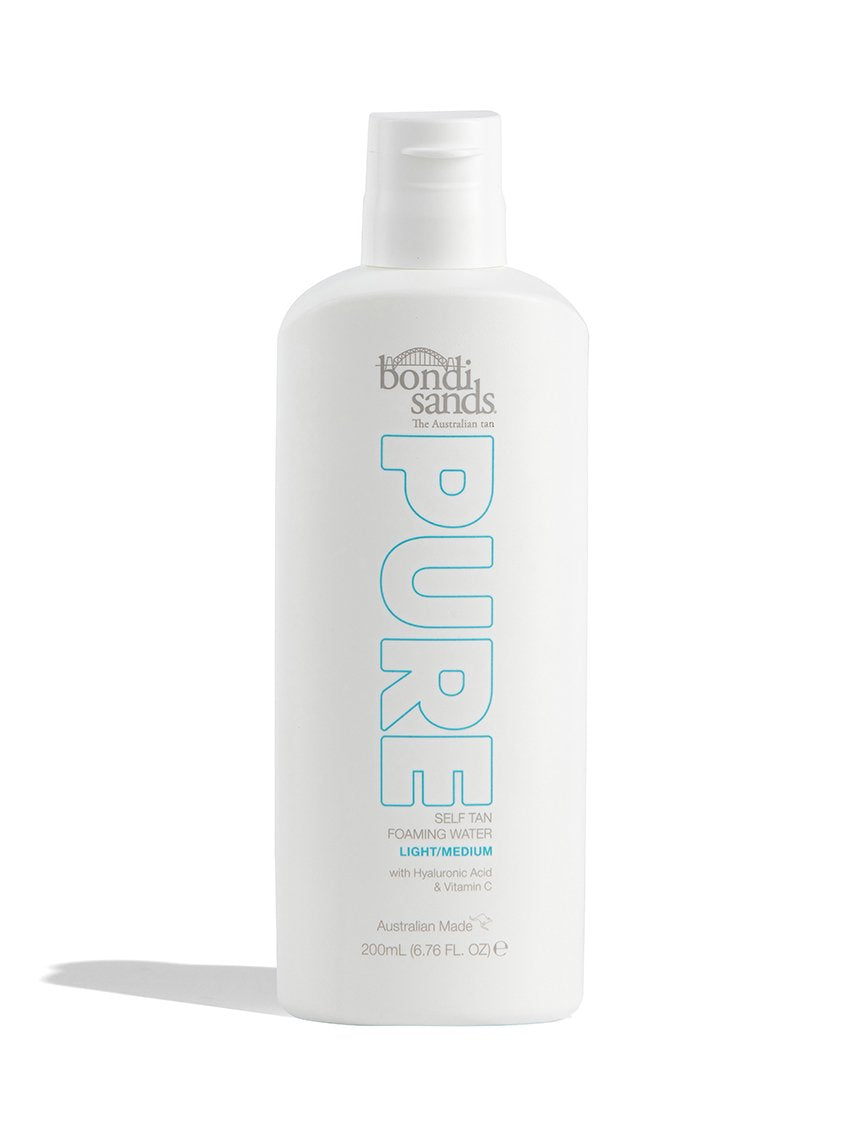PURE Self Tan Foaming Water in Light/Medium