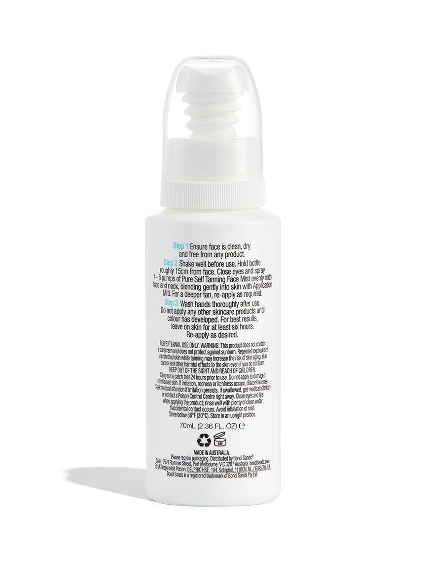 Pure Self Tanning Face Mist