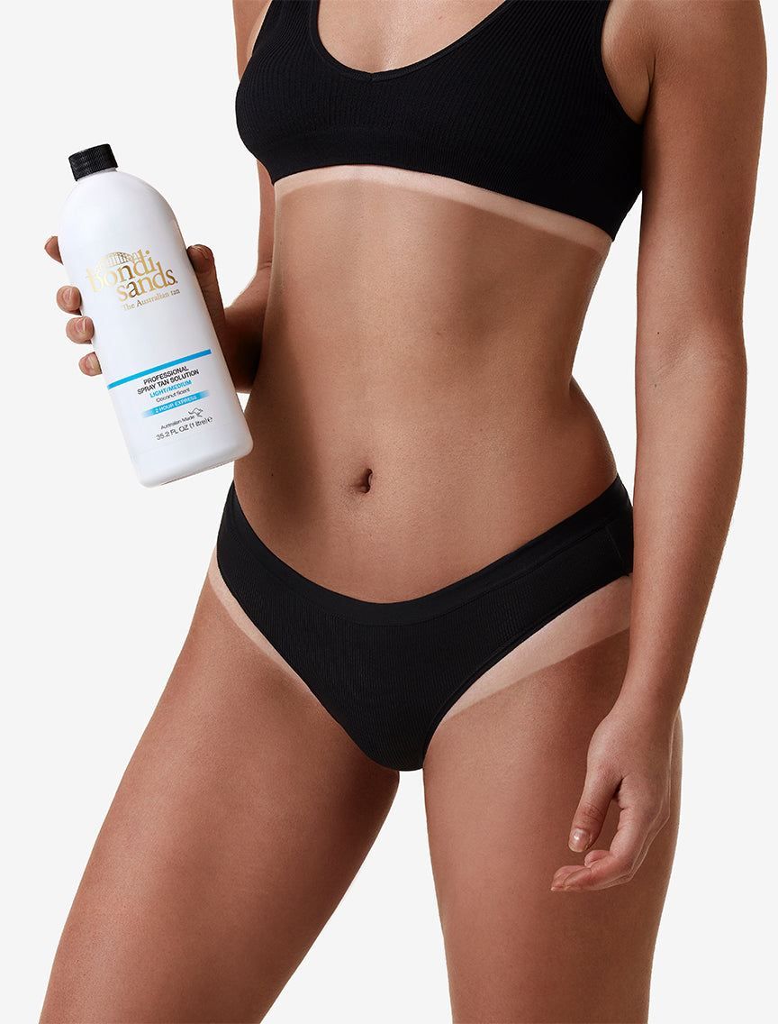 Professional Two Hour Express Spray Tan Solution Light/Medium Shade