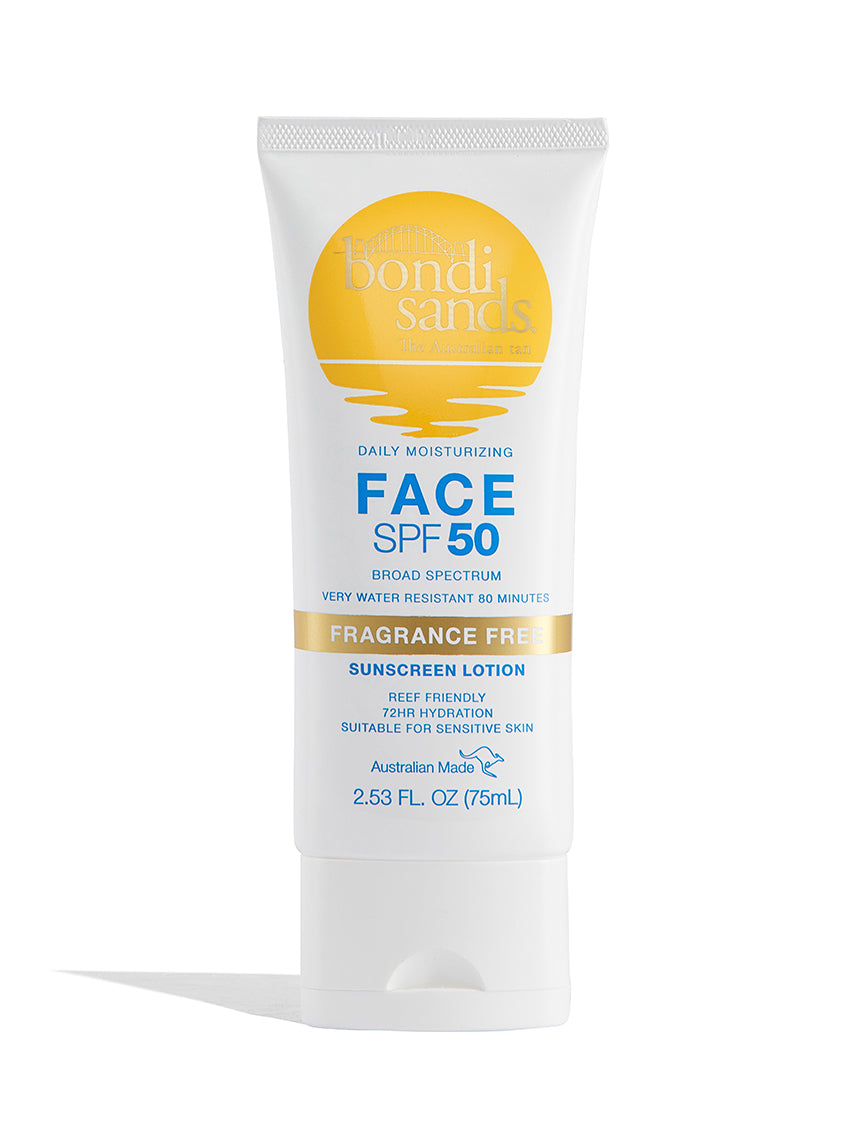 Daily Moisturizing SPF 50 Fragrance Free Sunscreen Lotion for Face