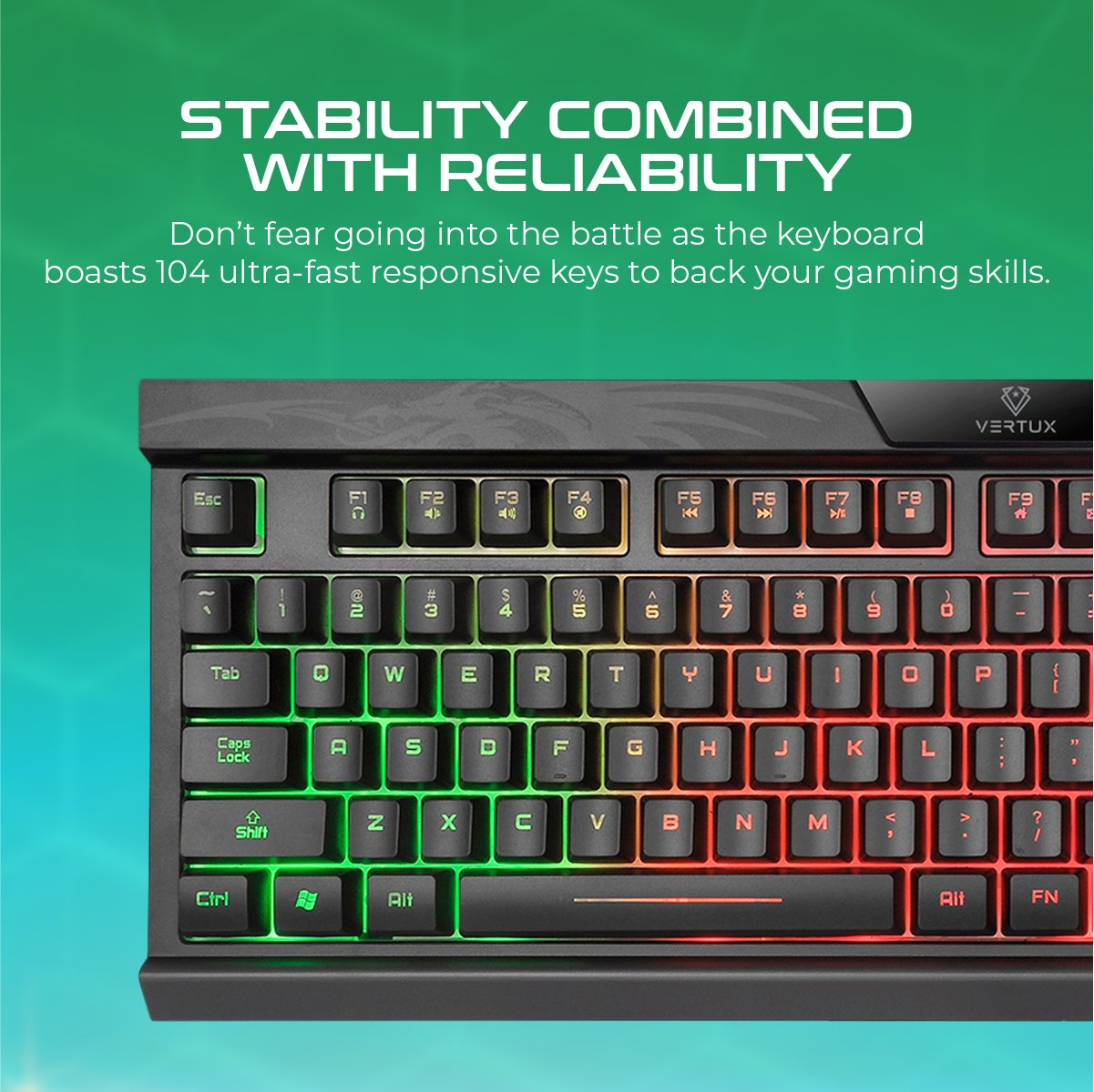 Pro Performance Gaming Keyboard