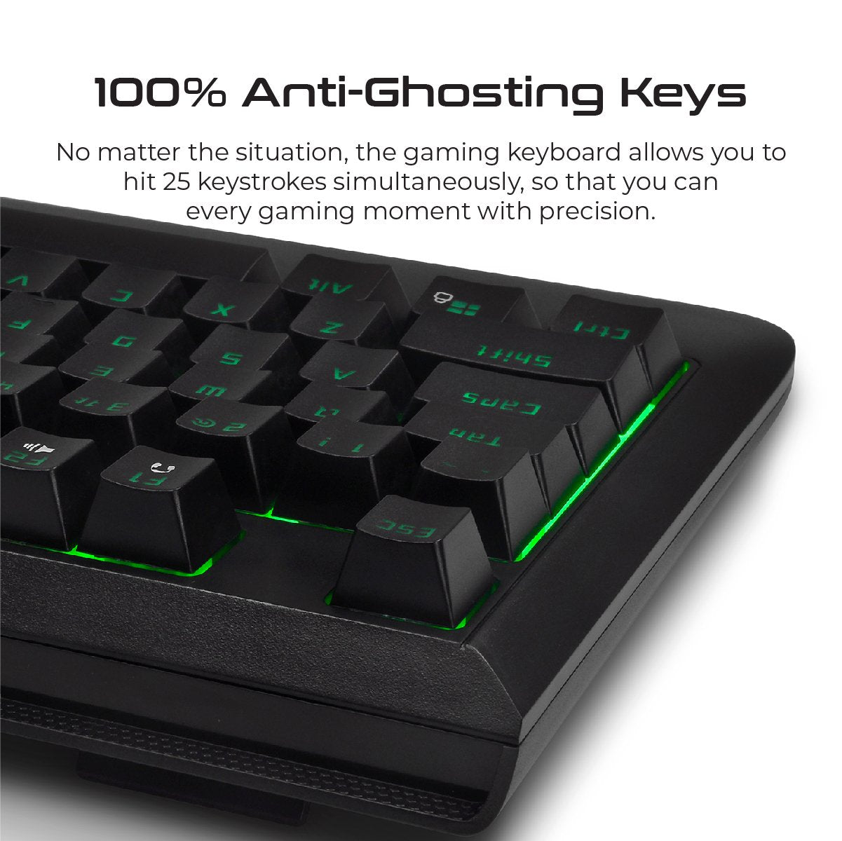 Rapid Response Wired Mechanical Gaming Keyboard