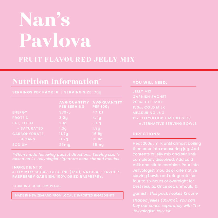 Nan's Pavlova Jelly Mix