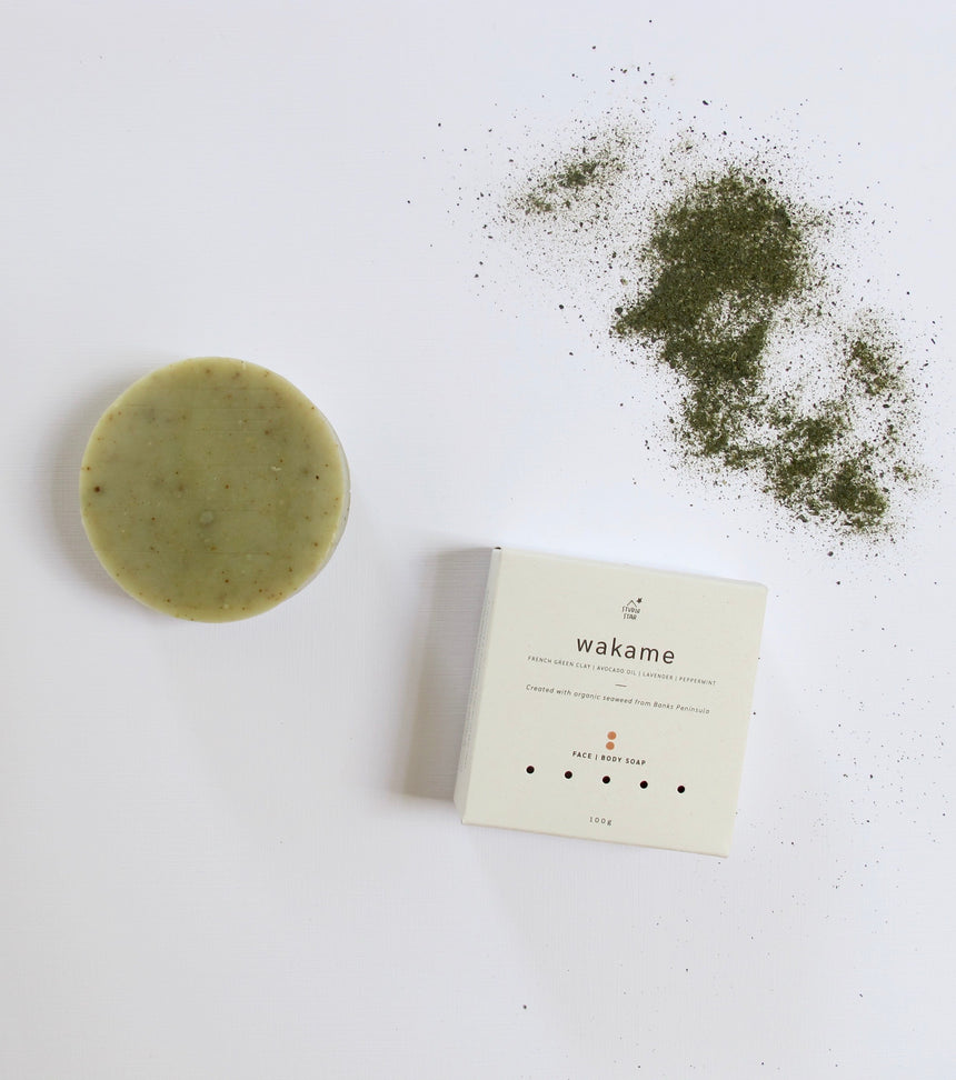 Wakame & French Clay Face + Body Soap