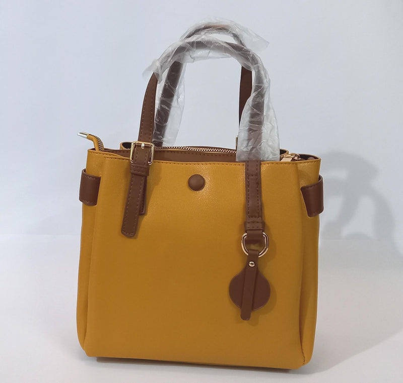 Mustard Brown Bag