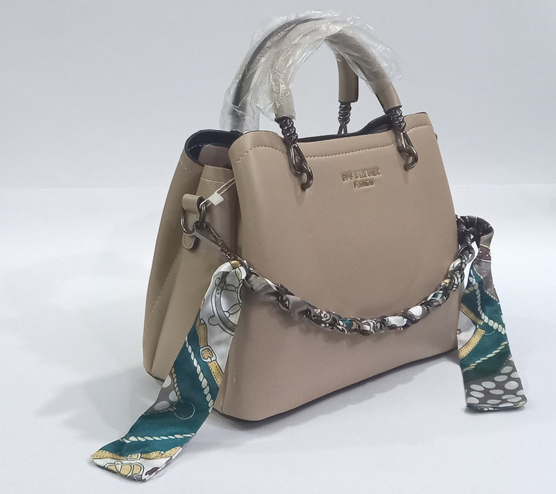DFS Leather Hand Bag