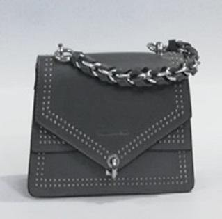 Mini Grey Chain Hand Bag - MulberryFeel