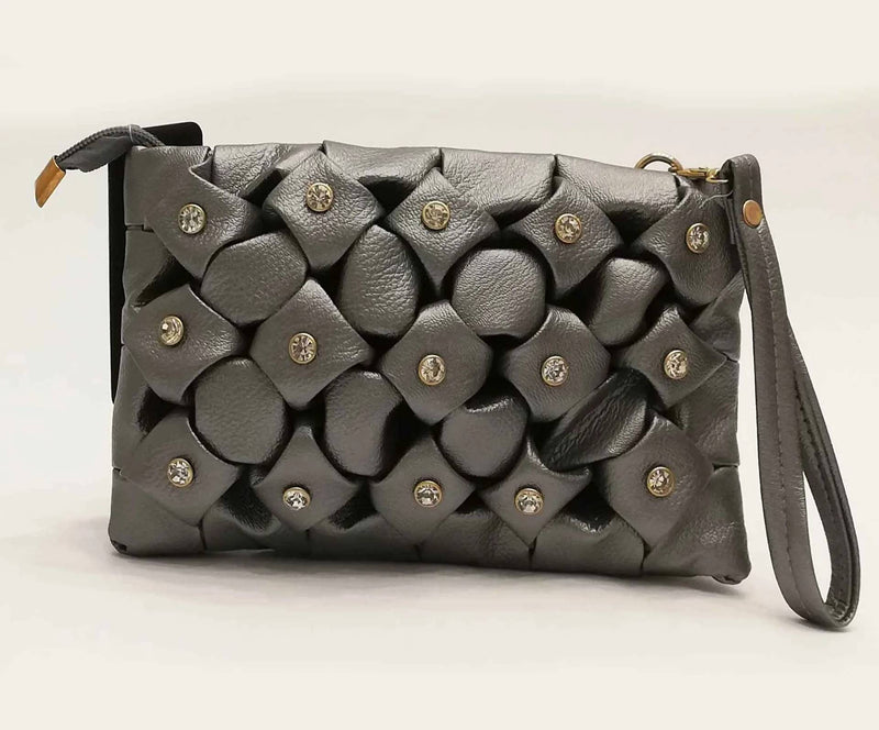 EMBELLISHED CLUTCH - MulberryFeel
