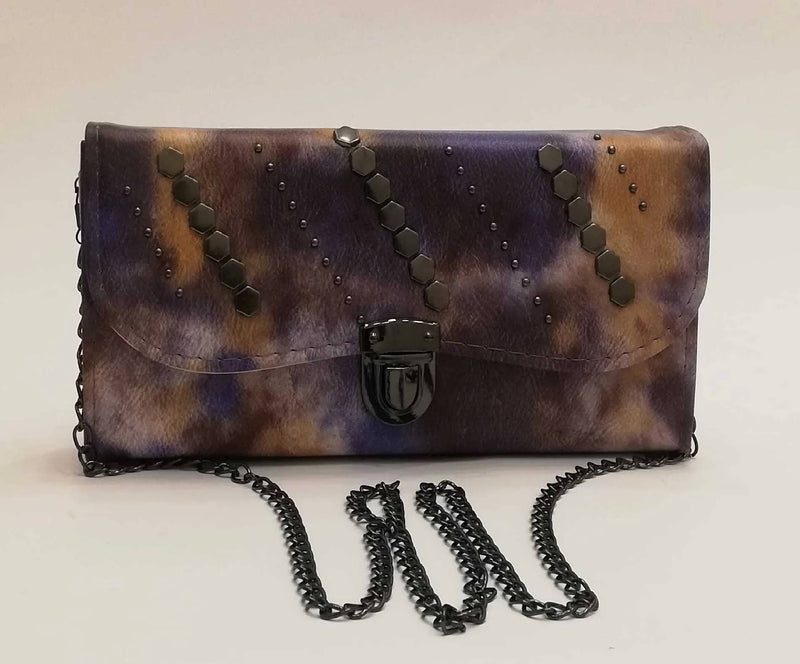 Printed Clutch - MulberryFeel