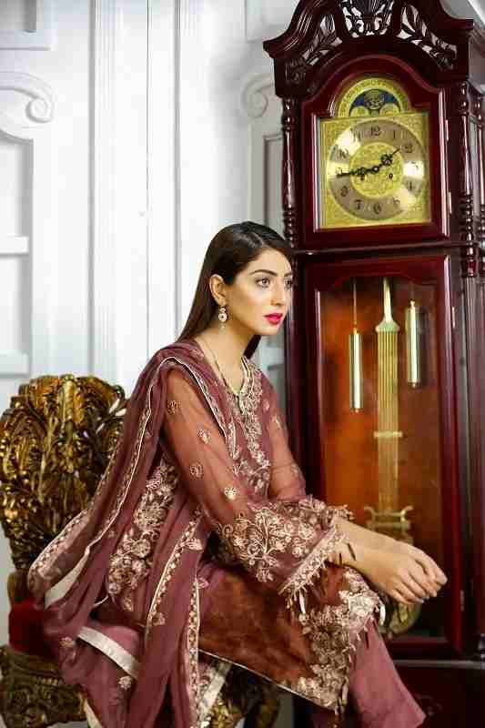 Luxury Festive Chiffon collection Pret - MulberryFeel