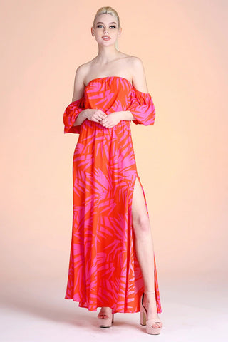 Palm Springs Maxi Dress - Pink