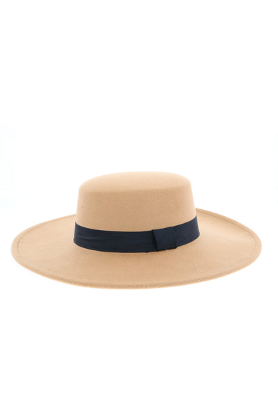 In Need Of A Rest Wide Brim Hat - Tan
