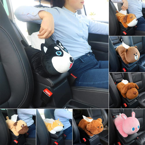 New High Quality Universal Car Armrest Box Tissue Box