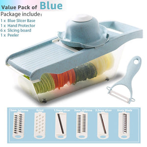 Multifunctional Round Rotate Mandoline Slicer