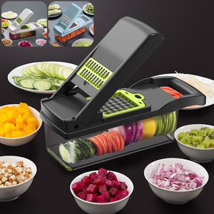 Multifunctional Vegetable Cutter Shredders Slicers