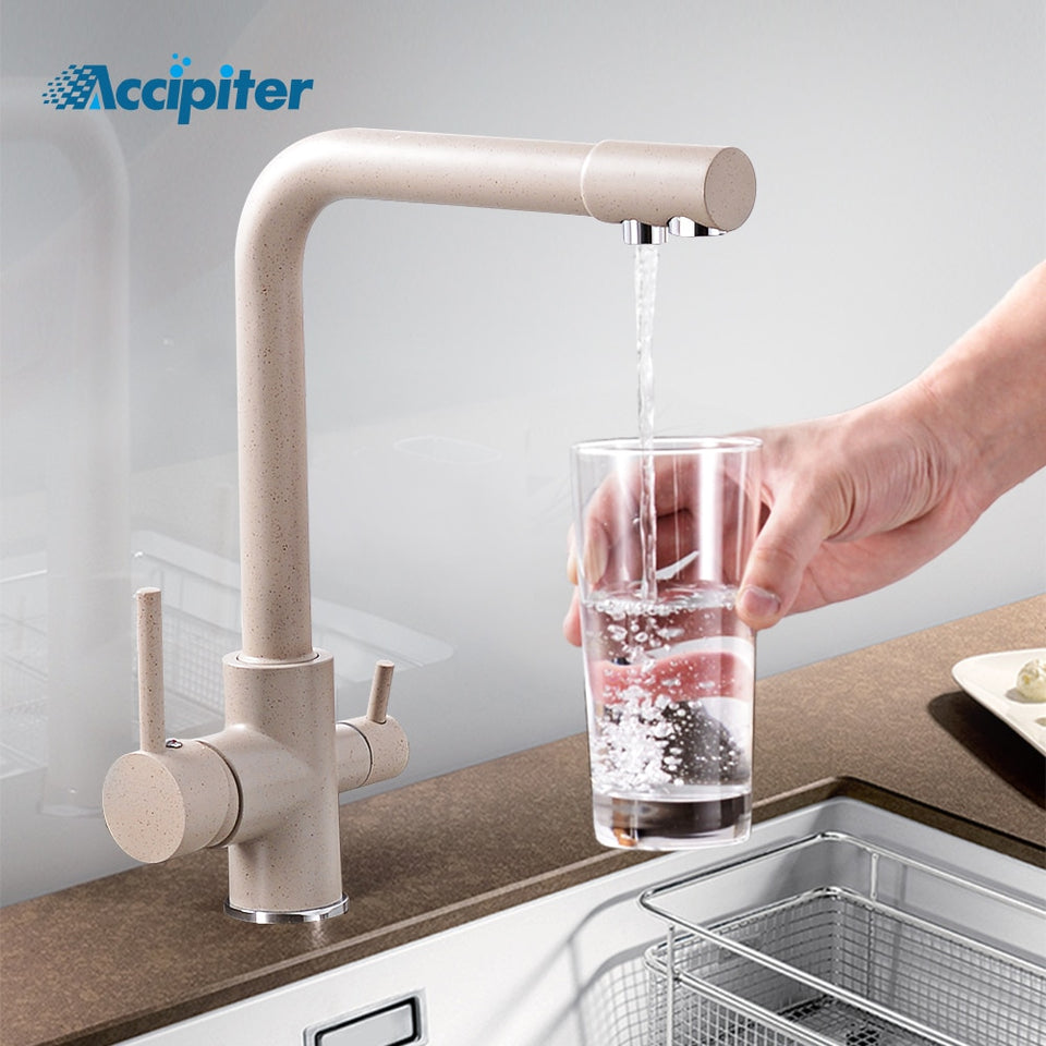 360 Degree Rotation brass drinking filtered water kitchen