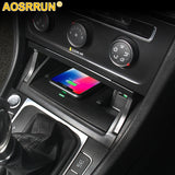 For Volkswagen VW Golf 7 MK7 Car accessories Mobile phone
