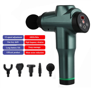 2020 New 7800r LCD Display Body Massage Gun