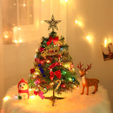 50cm Mini Christmas Tree With Lights Small Accessories
