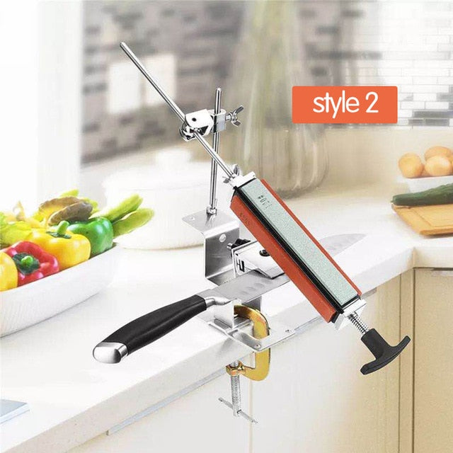 2020 NEW Iron Steel Kitchen Knife Sharpener