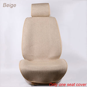 Slim Design Front Car Seat Covers/Universal linen seat