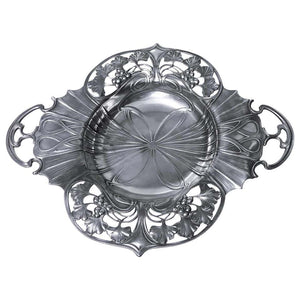 WMF Art Nouveau Pewter Two Handled Dish Bowl, Germany, circa 1900