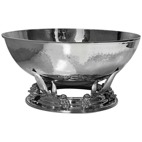 Large Carl Poul Petersen Sterling Silver Bowl, Montreal, circa 1940