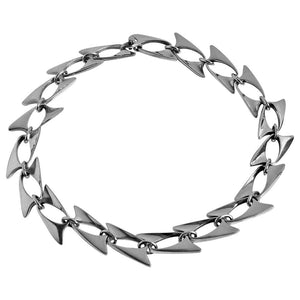 Georg Jensen Henning Koppel Sterling Necklace, Denmark, circa 1960