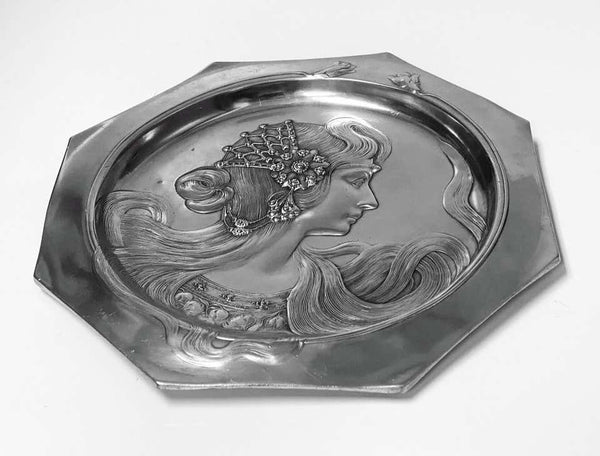 WMF Art Nouveau Visiting Card Tray Germany, circa 1900