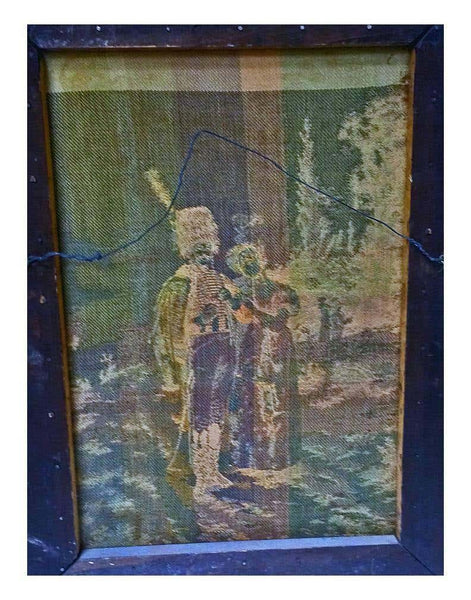 Pair of French or Flemish Tapestries, Signed P. Groller 99, France, circa 1899