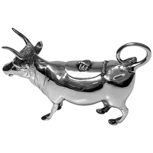 Fine Silver Cow Creamer, Germany C.1900