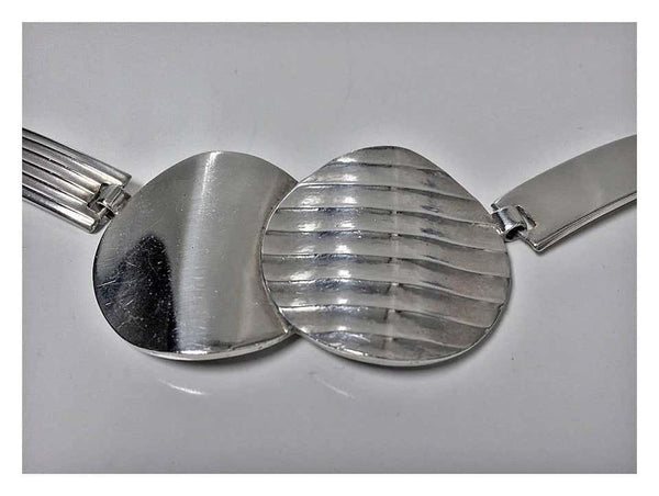 1930s Theodor Fahrner Art Deco Sterling Silver Necklace