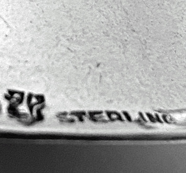 Sterling Hand Table Bell by Petersen, Montreal C.1930.