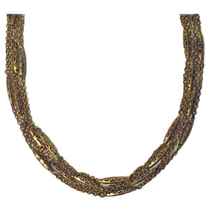 Antique Gold Muff Chain English, circa 1890