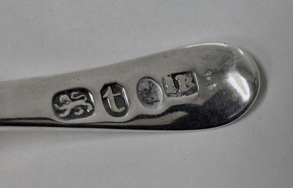 Georgian Silver Caddy Spoon, Birmingham 1817, John Bettridge