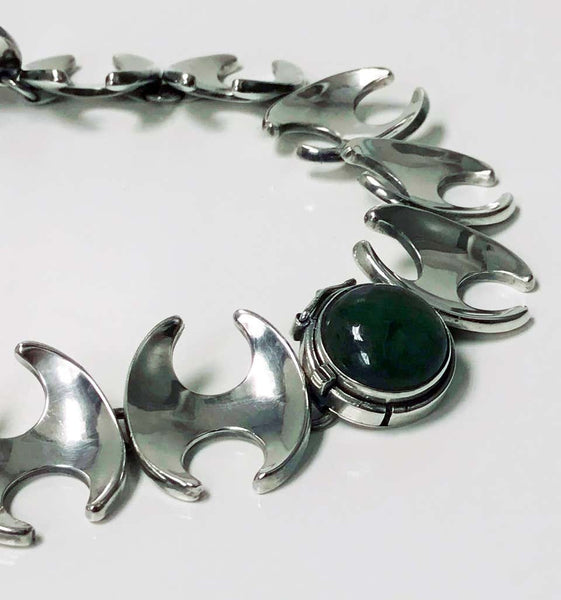 1950s Rare Georg Jensen Henning Koppel Necklace