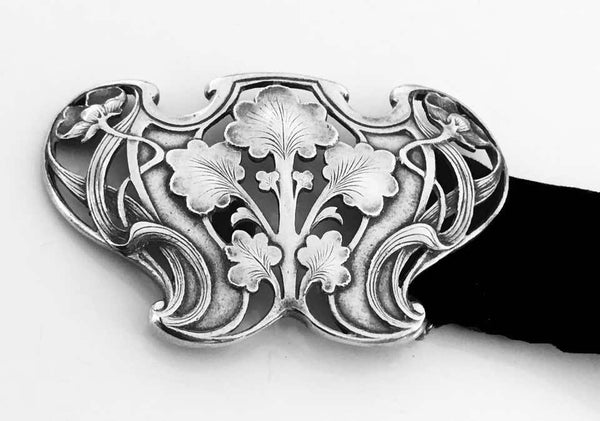 Gorham Art Nouveau Sterling Buckle, 1902