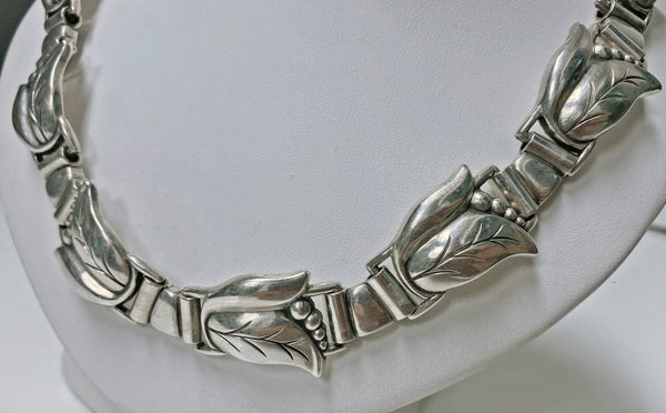 Georg Jensen Sterling Silver Necklace  C.1940
