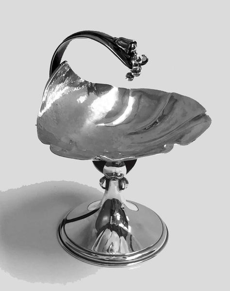 Carl Paul Petersen Sterling Silver Compote, Montreal, circa 1940
