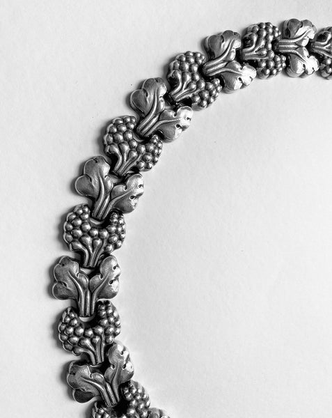 Georg Jensen Sterling Paris Model Necklace, Denmark, circa 1945